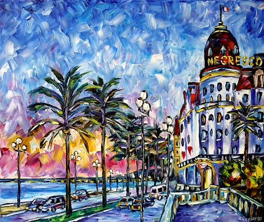 niceintheevening,cityintheevening,eveningmood,eveningcolors,hotelnegresco,lenegresco,niceintheeveninglight,cotedazur,provencepainting,provencelovers,provencelove,eveningscene,eveningscenery,beautifulpainting,beautifulcolors,eveningblue,nicepalms,palmtrees,summerevening,niceinsummer,summerfeelings,citycars,summerpainting,beautifulnice,colorfulnice,beautifulcity,colorfulcity,nicepainting,nicelove,nicelovers,francelovers,francelove,colorfulcityscape,cityscene,cityscenery,colorfulhouses,ilovenice,bluecolors,bluepainting,bluesky,paletteknifeoilpainting,modernart,impressionism,artdeco,abstractpainting,livelycolours,colorfulpainting,brightcolors,lightreflections,impastopainting,livingroomart,livingroompicture,livingroompainting