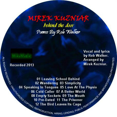 Mirek Kuzniar - Behind The Door CD