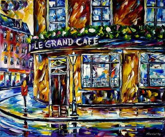 oilpainting,modern,impressionism,paris,legrandcafe,woman,girl,walking,,restaurant,oldcity,bar,inn,cityscape,cityscene,france,foodanddrink,flowers,lively,colorful