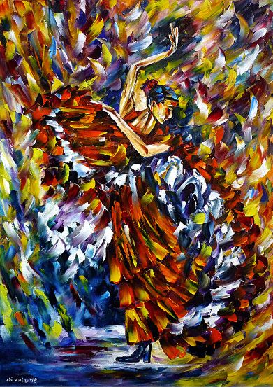 oilpainting,modern,impressionism,dancing,dance,spain,spanishdance,music,andalusia,spanishwoman