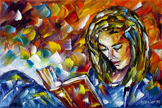 oilpainting,impressionism,book,readingwoman,novel,thriller,romantic,loveromance