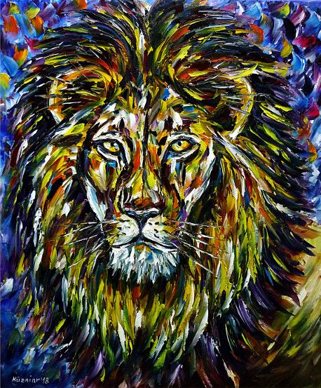 oilpainting, impressionism, lionportrait,safari,africa,animals,animalportrait,animalpainting,lionpainting,animallove