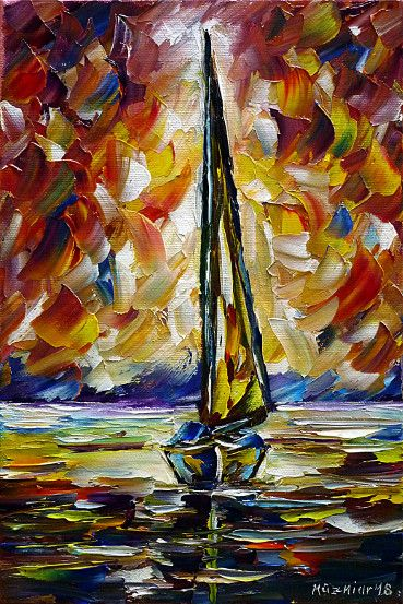 oilpainting,impressionism,sea,sealandscape,seascape,sailing,sunset,seapainting,boatspainting