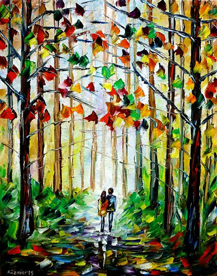 oilpainting,modern,impressionism,abstractpainting,autumnforest,springforest,summerforest,autumnpark,springpark,summerpark,autumnmood,springmood,summermood,lovecouple,lovers,walkinghandinhand,holdinghands,autumncolours,springcolours,colors,summercolours,landscapepainting,autumnlandscape,peoplepainting,lively,colorful